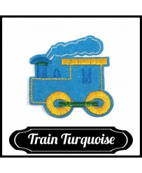 Patch Train ( Turquoise )