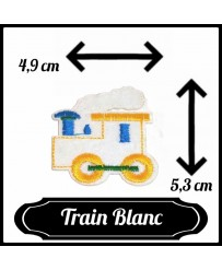 Patch Train ( Blanc )