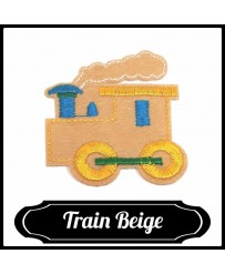 Patch Train ( Beige )