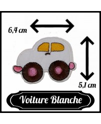 Patch Voiture Blanc