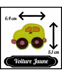 Patch Voiture Jaune