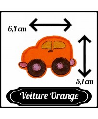 Patch Voiture Orange