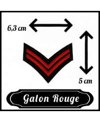Patch Galon Rouge