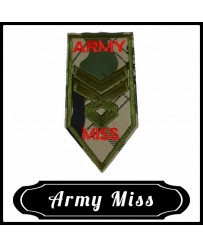 Patch Galon Miss Army