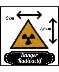 Patch Danger Radioactif