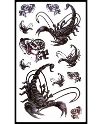 Tattoo Scorpions et Cobras