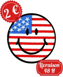 Patch Emoji U.S.A.