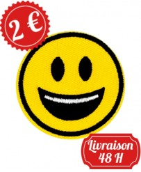 Patch Emoji Grand Sourire