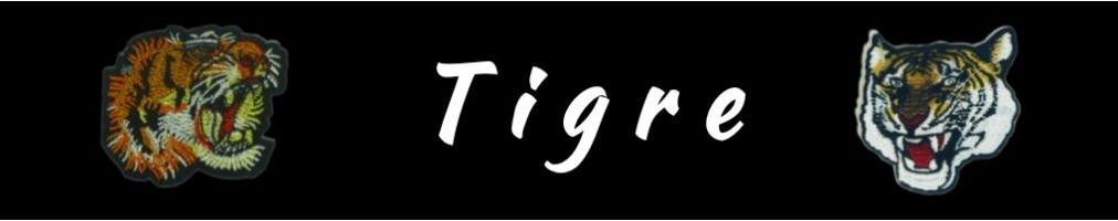 Collection de Patch Thermocollant TIGRE