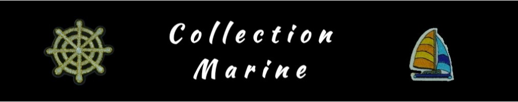 Collection de Patch Thermocollant MARINE