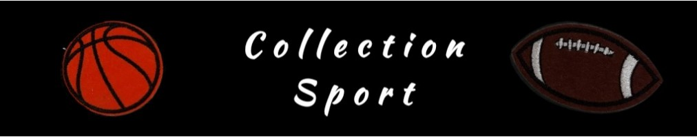 Collection de Patch Thermocollant Sport : foot, basket, rugby