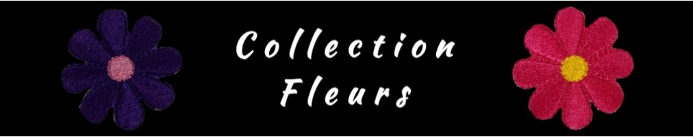 Collection de Patch Thermocollant Fleurs